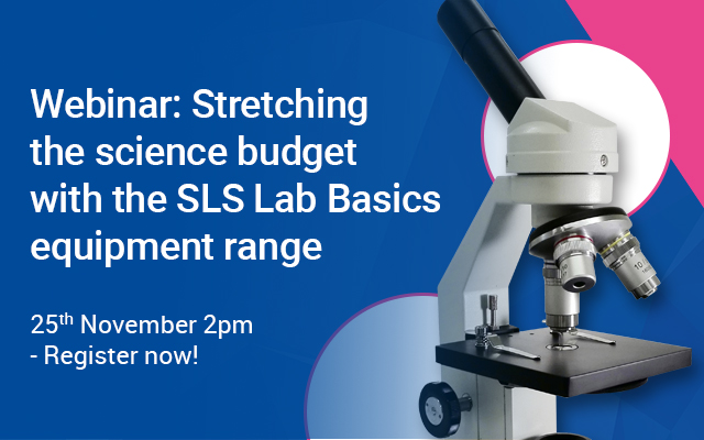 Stretching the science budget with the SLS Lab Basics equipment range