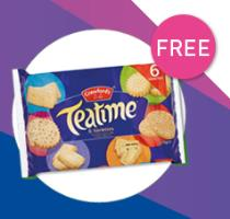Free Biscuits Min. Spend Limits Apply GET CODES