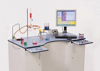 Self Contained Mobile Lab Bench