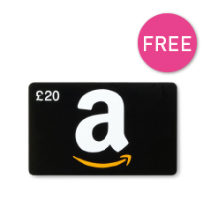 Free £20 Amazon Voucher £750 Min Spend QUOTE OVER750
