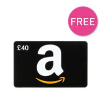 Free £40 Amazon Voucher £950 Minimum Spend QUOTE OVER950