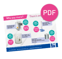 Why Pay More? Supplier Price Comparison VIEW PDF